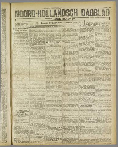 Ons Blad : katholiek nieuwsblad voor N-H 1921-09-29