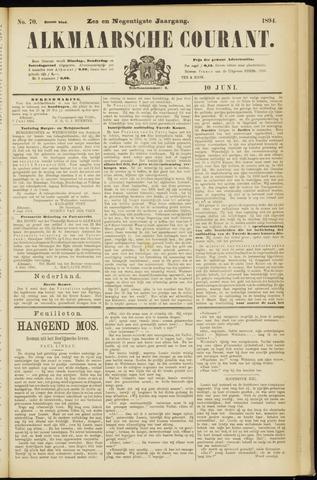Alkmaarsche Courant 1894-06-10