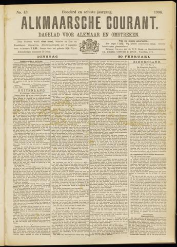 Alkmaarsche Courant 1906-02-20