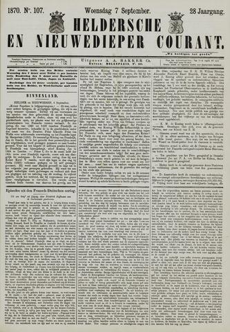 Heldersche en Nieuwedieper Courant 1870-09-07