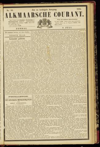 Alkmaarsche Courant 1884-07-06