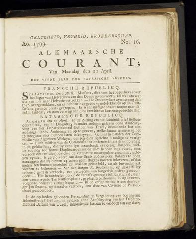 Alkmaarsche Courant 1799-04-22