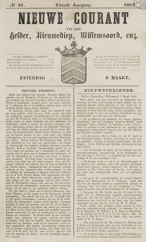 Nieuwe Courant van Den Helder 1862-03-08