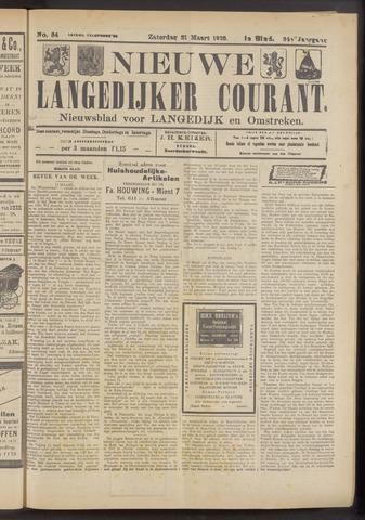 Nieuwe Langedijker Courant 1925-03-21