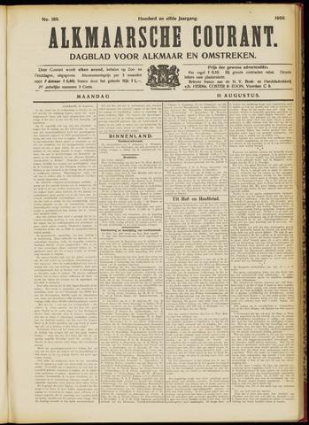 Alkmaarsche Courant 1909-08-16
