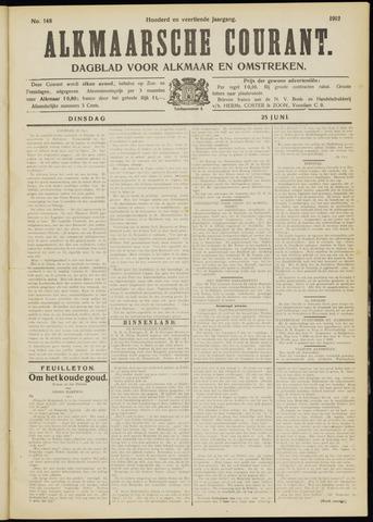 Alkmaarsche Courant 1912-06-25