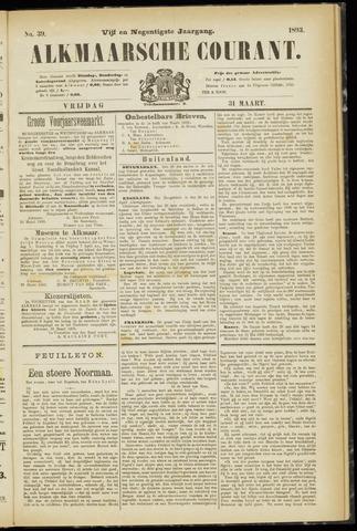 Alkmaarsche Courant 1893-03-31