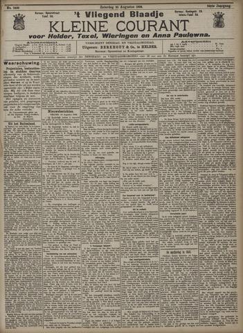 Vliegend blaadje : nieuws- en advertentiebode voor Den Helder 1906-08-25