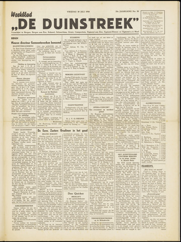 De Duinstreek 1948-07-30
