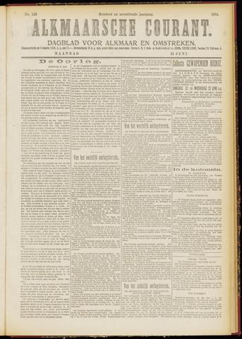 Alkmaarsche Courant 1915-06-21