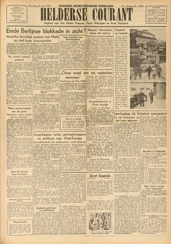 Heldersche Courant 1949-04-27