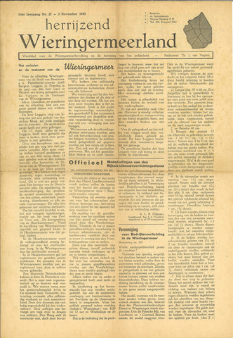 Herrijzend Wieringermeerland 1945-11-03