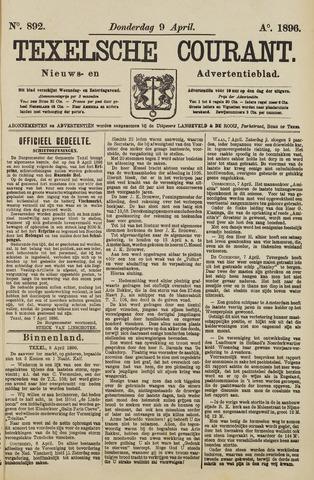 Texelsche Courant 1896-04-09