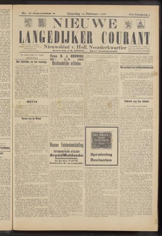 Nieuwe Langedijker Courant 1927-02-12