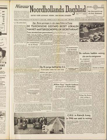 Nieuw Noordhollandsch Dagblad : voor Alkmaar en omgeving 1949-06-18