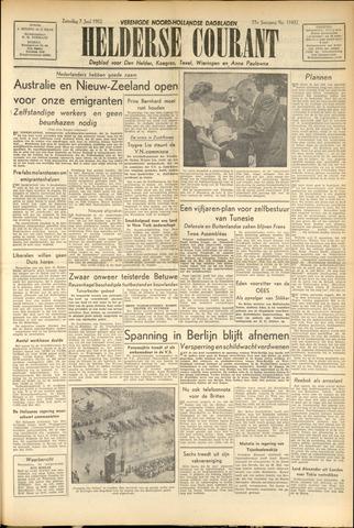 Heldersche Courant 1952-06-07