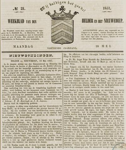 Weekblad van Den Helder en het Nieuwediep 1857-05-18