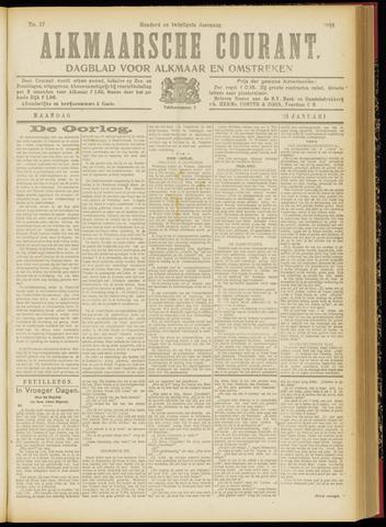 Alkmaarsche Courant 1918-01-21
