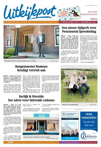 Uitkijkpost : nieuwsblad voor Heiloo e.o. 2020-09-30