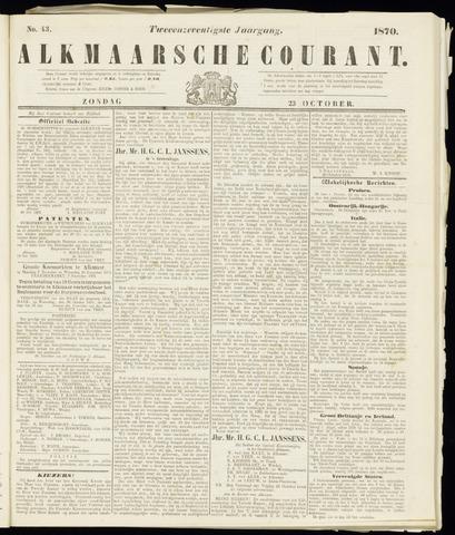 Alkmaarsche Courant 1870-10-23