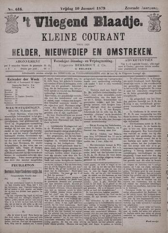 Vliegend blaadje : nieuws- en advertentiebode voor Den Helder 1879-01-10