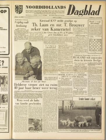 Noordhollands Dagblad : dagblad voor Alkmaar en omgeving 1959-01-07