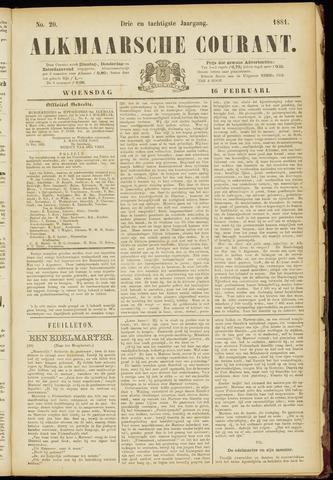 Alkmaarsche Courant 1881-02-16