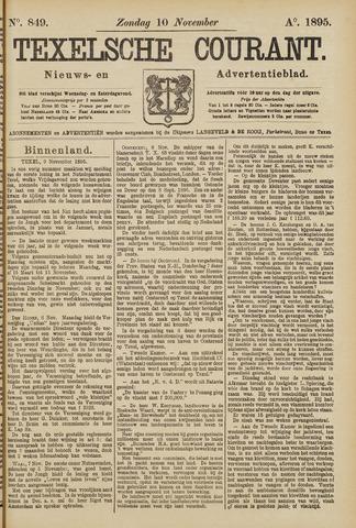 Texelsche Courant 1895-11-10