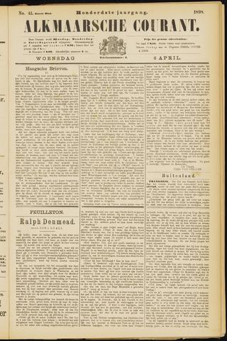 Alkmaarsche Courant 1898-04-06