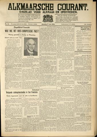 Alkmaarsche Courant 1934-07-17