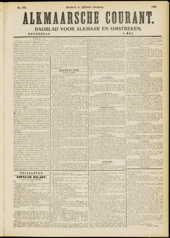 Alkmaarsche Courant 1913-05-08