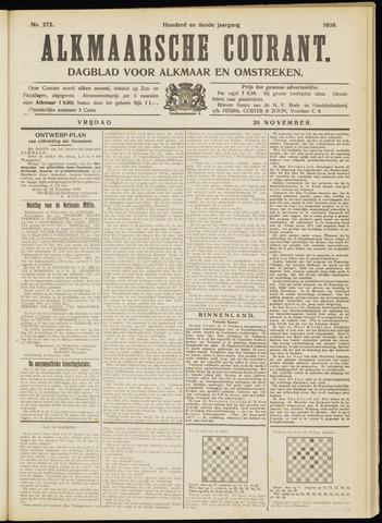 Alkmaarsche Courant 1908-11-20