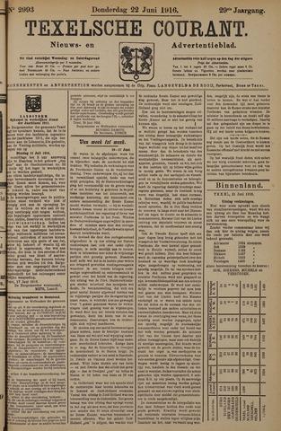 Texelsche Courant 1916-06-22