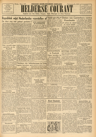 Heldersche Courant 1949-03-01