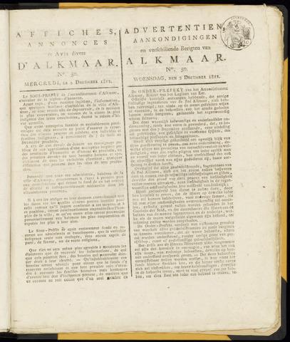 Alkmaarsche Courant 1812-12-02