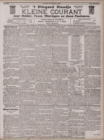 Vliegend blaadje : nieuws- en advertentiebode voor Den Helder 1903-09-19