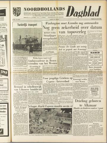 Noordhollands Dagblad : dagblad voor Alkmaar en omgeving 1958-07-25