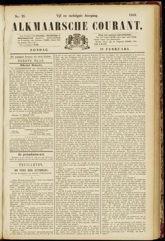 Alkmaarsche Courant 1883-02-18