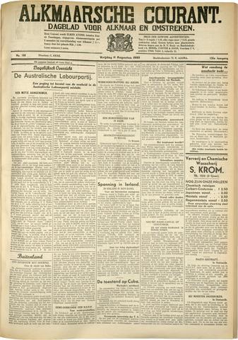 Alkmaarsche Courant 1933-08-11