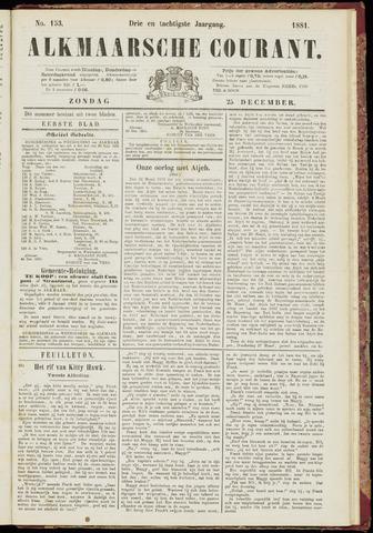 Alkmaarsche Courant 1881-12-25