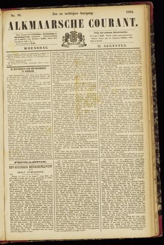 Alkmaarsche Courant 1884-08-13