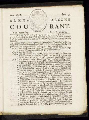 Alkmaarsche Courant 1808-01-18