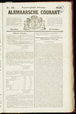 Alkmaarsche Courant 1857-10-26