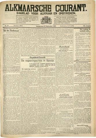 Alkmaarsche Courant 1933-09-14