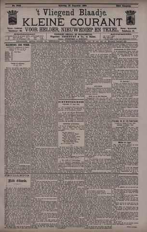 Vliegend blaadje : nieuws- en advertentiebode voor Den Helder 1896-08-22