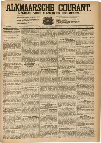 Alkmaarsche Courant 1930-09-08