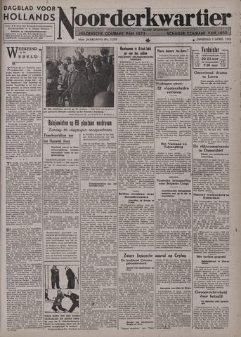 Dagblad voor Hollands Noorderkwartier 1942-04-07