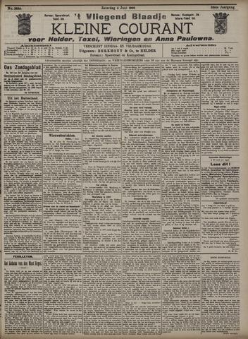 Vliegend blaadje : nieuws- en advertentiebode voor Den Helder 1908-06-06