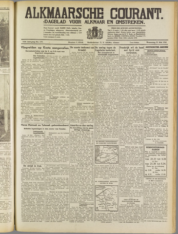 Alkmaarsche Courant 1941-05-21