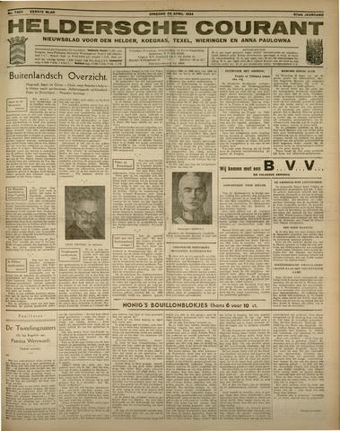 Heldersche Courant 1934-04-24